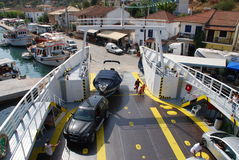 Ferry boat, Greece Stock Images