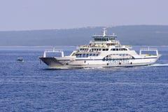 Ferry boat Ilovik on regular route Royalty Free Stock Photo