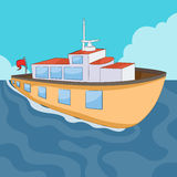 Ferry Boat. An image of a ferry boat Stock Images