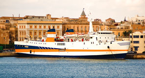 Free Ferry Boat In Port Stock Photo - 3096100