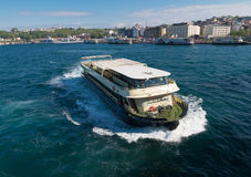 Ferry boat in istanbul Stock Image