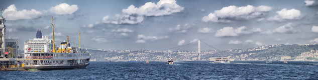 Ferry boat in istanbul Stock Photos