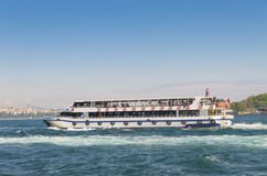 Ferry boat in istanbul Royalty Free Stock Photo