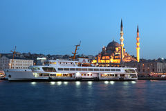 Ferry boat in Istanbul, Turkey Stock Photos