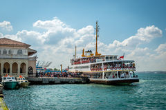 Ferry boat in Istanbul, Turkey Stock Photos