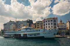 Ferry boat in Istanbul Royalty Free Stock Photos