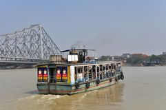 Ferry Boat in Kolkata Royalty Free Stock Image
