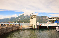 Ferry boat, lake Como Stock Images
