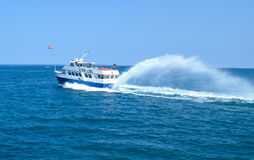 Ferry Boat on Lake Huron Royalty Free Stock Photos