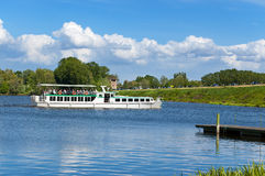 Ferry Boat - Lake of Mantova Italy Stock Photography