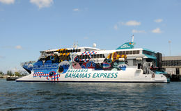Ferry boat Miami to the Bahamas Royalty Free Stock Photo