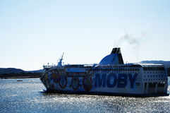 Ferry-boat moby Photographie stock