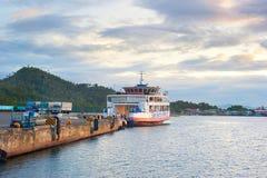 Ferry-boat, Philippines Photos libres de droits
