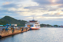 Ferry boat, Philippines royalty free stock photos
