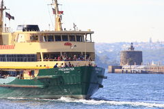 Ferry boat in Sydney harbour Stock Photography