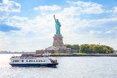 Free Ferry Boat That Takes Passenger To The Statue Of Liberty National Monument Stock Images - 126825034