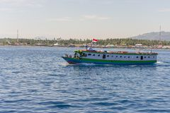 Ferry boat to the Togean Islands, Indonesia Stock Photos