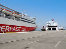 Ferry boats Stock Photography