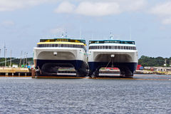 Ferry Boats Stock Photo