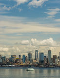 The ferry boats of Seattle Washington Stock Images