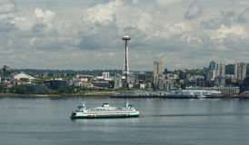 The ferry boats of Seattle Washington Royalty Free Stock Photography