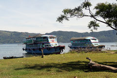 Ferry boats Stock Image