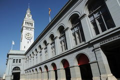 Ferry Building. Tower of the Ferry Building in San Francisco Royalty Free Stock Photo