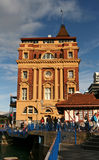 The Ferry Building, Auckland, New Zealand Stock Image