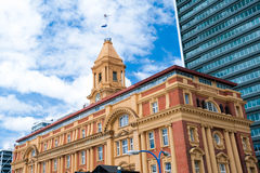 Ferry Building - Auckland, New Zealand Stock Photography