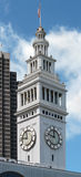 Ferry Building Clock Tower Stock Photography