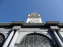 Ferry Building Clock Tower Royalty Free Stock Images