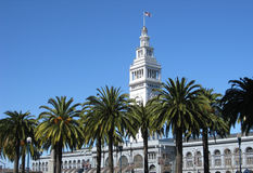 Ferry Building, Embarcadero, SF Royalty Free Stock Photo