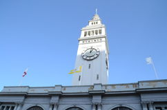Ferry Building in San Francisco, CA. The Ferry Building clock tower in San Francisco, California Stock Image