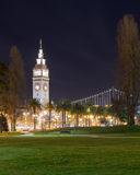 Ferry Building. San Francisco Ferry Building at night Stock Images