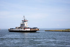 Ferry Car Transport. Along the Outer Banks in North Carolina stock photography
