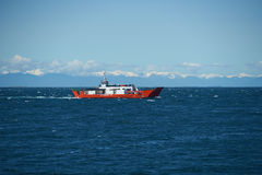 Ferry - Chiloe - Chile Stock Image