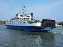 Ferry city of Swinoujscie. Stock Photography