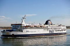 Ferry cross channel Royalty Free Stock Photography