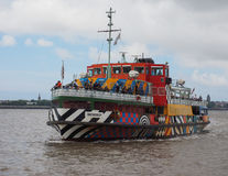 Ferry cross the Mersey in Liverpool Stock Photos