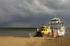 Ferry Crossing stock photo