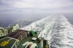Ferry crossing see Royalty Free Stock Images