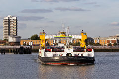 Ferry crossing - Woolwich Royalty Free Stock Image