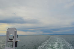 Ferry current, Canada Royalty Free Stock Photography