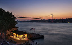 Ferry d'Ä°stanbulBeylerbeyi image libre de droits