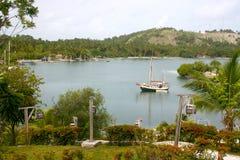 Ferry d'île de vache, Haïti Image libre de droits