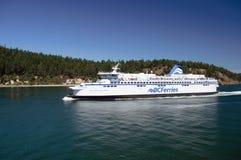 Ferry d'île de Vancouver photo libre de droits