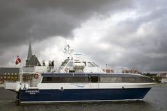 Ferry d'Aarhus Photo libre de droits