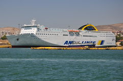 Ferry d'ELYROS Image stock
