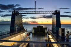 Ferry d'Interislander, Nouvelle-Zélande photos libres de droits