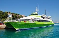 Ferry d'île d'Alonissos, Grèce Images libres de droits